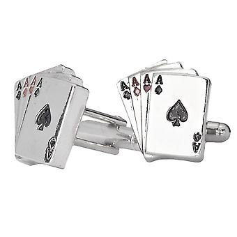 Iced out Hip Hip cufflinks - ACEs bling