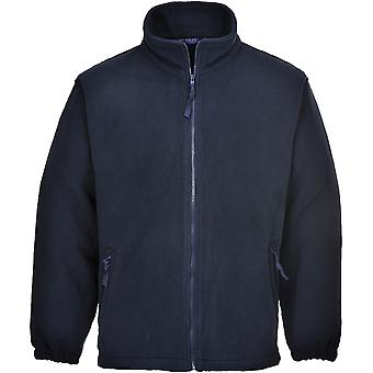 Portwest Herren Aran Full Zip Fleece Top