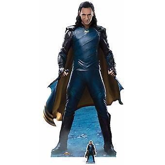 Loki da Thor: Ragnarok ufficiale Marvel ritaglio di cartone Lifesize