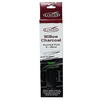 Loxley Willow Charcoal Assorted Pack 2-10mm