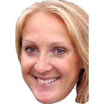 Máscara de la cara de Paula Radcliffe