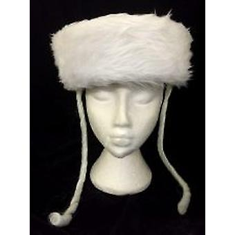 Judío sombrero jasidico lujo - blanco