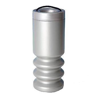 Charity Money Collection Box - Silver