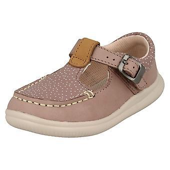 Clarks Casual Schlepplift Schuhe Mädchen Wolke Rosa