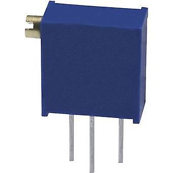 Bourns 3296Z-1-101LF trimmer verzegeld lineair 0,5 W 100 Ω 9000 ° 1 PC (s)