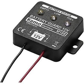 Batterij monitor component Kemo M188 12 V DC