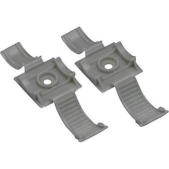 Panduit ARC.68-S6-Q14 Cable mount Schroefbevestigende ARC.68-S6-Q14 + band Grijs 1 pc(s)