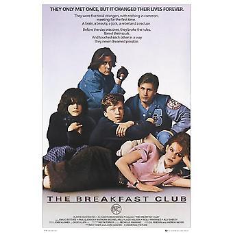 Breakfast Club plakat Emilio Estevez, Molly Ringwald, Ally Sheedy 91,5 x 61 cm