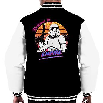 Originele Stormtrooper Retro 80s-Welkom bij het rijk mannen Varsity Jacket
