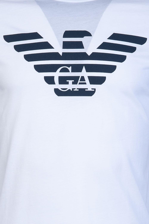 Emporio Armani Round Neck Long Sleeve T Shirt 8N1T64 1JPZZ