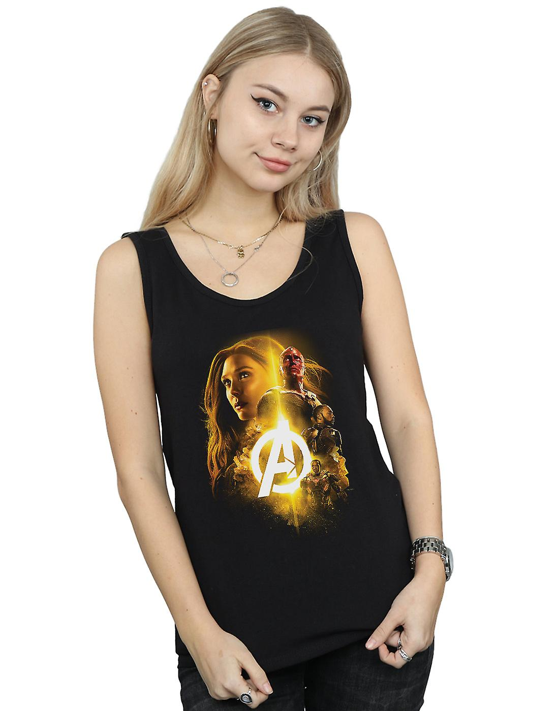 Marvel Women's Avengers Infinity War Vision Witch Team Up Vest