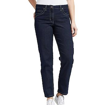 Laurie Classic Navy Blue Straight Leg Jeans