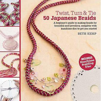 Twist - Turn & slips - 50 japanske fletninger af Beth Kemp - 9781782210184 B