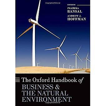 Il manuale di Oxford del Business e dell'ambiente naturale