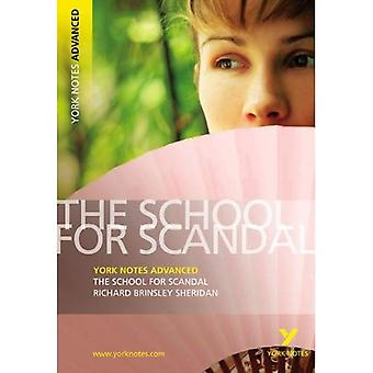 The School for Scandal (York Notes geavanceerde)