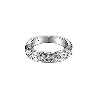 ESPRIT women's ring srebrny cyrkonia FENESTRA ESRG91568A1