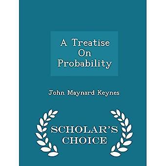 Un tratado en probabilidad - edición elección del becario