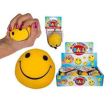 Clamp and mallable Smiley Stress ball Antistress Ball Squeeze