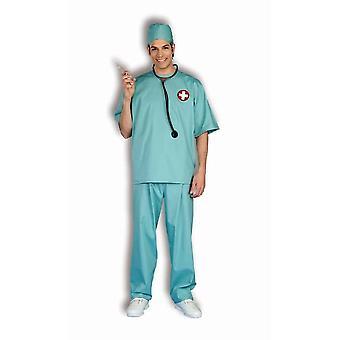Kirurgi lääkäri aikuinen puku