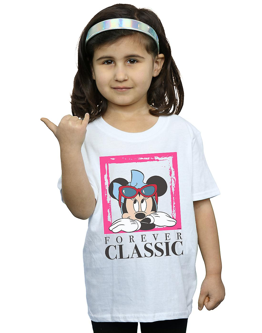 Disney Girls Minnie Mouse Forever Classic T-Shirt