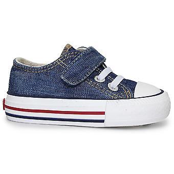 Levis garçons Trucker Mini toile basse chaussures Denim bleu