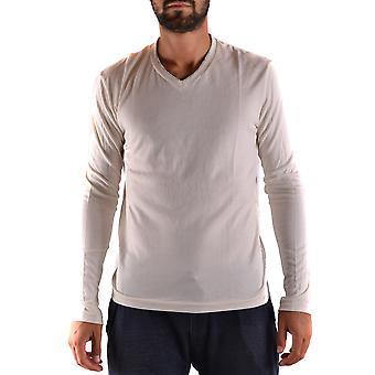 Yohji Yamamoto Ezbc106031 Men's White Cotton Sweater