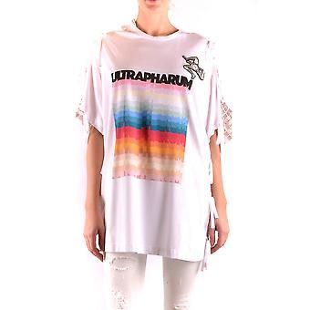 Marco De Vincenzo Ezbc120005 Women's White Cotton T-shirt