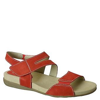 David Tate Womens Squish Leather Open Toe Casual Slide Sandals