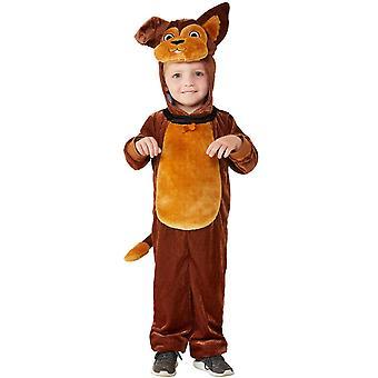 Pes Detský kostým celkovo Unisex Karneval jumpsuit batoľa Dog kostým