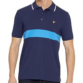 Lyle And Scott Stripe Pique Polo Shirt