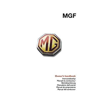 MGF Owner's Handbook - Glovebox Owners Instruction Manual - Covers All