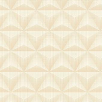3D Geometric Metallic Wallpaper Triangle Spots Peach Pearl Vinyl Paste Wall