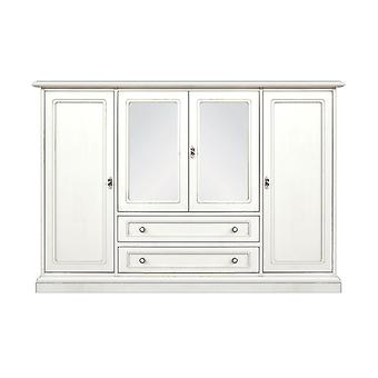 Credenzone Lacquered 4 Doors 2 Drawers