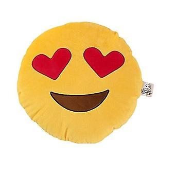 Emoji Cushions - Heart Eyes