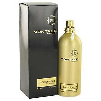 Montale Golden Aoud by Montale Eau de Parfum Spray 3,3 oz (naiset) V728-518262