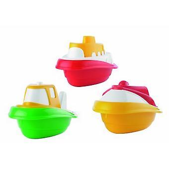 Drie speelgoed boot Set