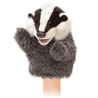 Hand Puppet - Folkmanis - Little Badger New Toys Soft Doll Plush 3102