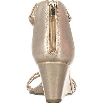 Thalia Sodi Womens addis tecido Toe especial ocasião tornozelo cinta sandálias abertas