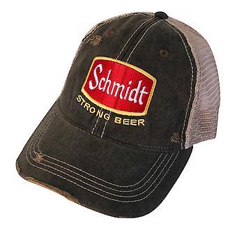 Schmidt bier Vintage Mesh hoed
