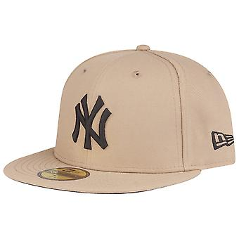 New Era 59Fifty Cap - MLB New York Yankees camel / black