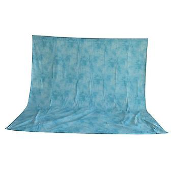 BRESSER BR-6110 waschbares Hintergrundtuch mit Muster 3x6m