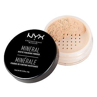 NYX PROF. MAKEUP mineral efter behandling pulver lys/medium