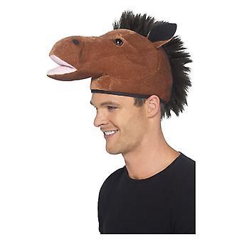 Ανδρικό καπέλο άλογο φανταχτερό φόρεμα αξεσουάρ