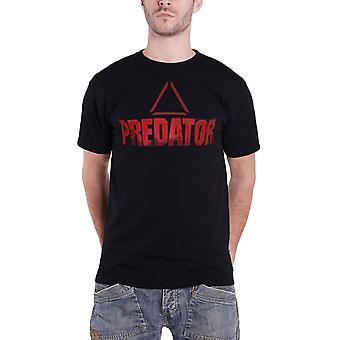 Predator T Shirt Centre Of Mass Movie Logo new Official Mens Black