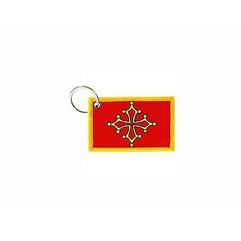 Cle Cles Schlüssel Brode Patch Ecusson Abzeichen Flagge Okzitanist Kreuz