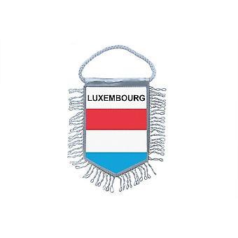 Flagga mini flagga land bil dekoration Luxemburg