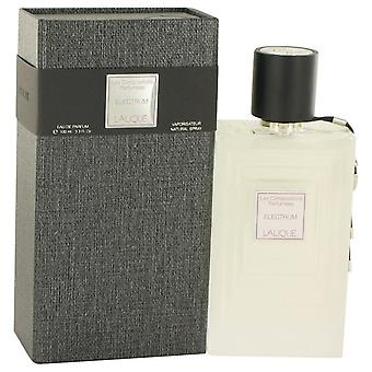 Les koostumukset parfumees electrum eau de parfum spray by lalique 518714 100 ml