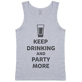 Keep Drinking And Party More - Mens Vest