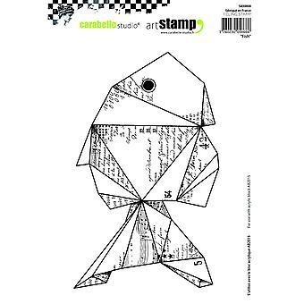 "Carabelle Studio ""fisk"" Cling stämpel, vit/Transparent, A5"
