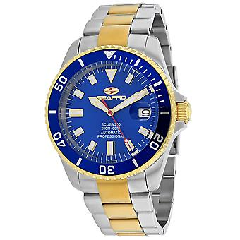 Seapro Men's Scuba 200 Blue Dial Watch - SP4327